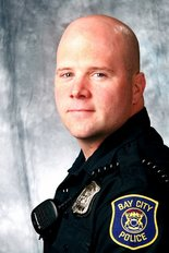 Bay City Police Officer Dan Anderson