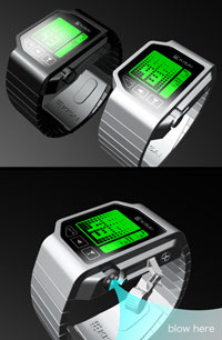 Tokyoflash watch design concept