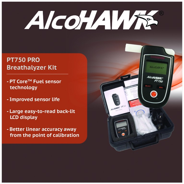 AlcoHAWK PT750 Professional Kit with Printer