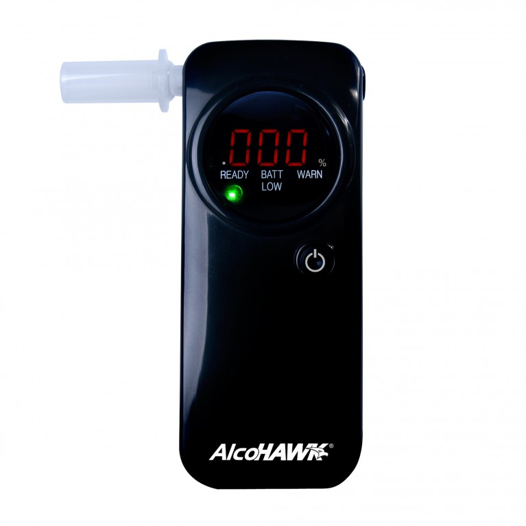 AlcoHAWK PRO FC Fuel-Cell Breathalyzer, Digital Breath Alcohol Tester