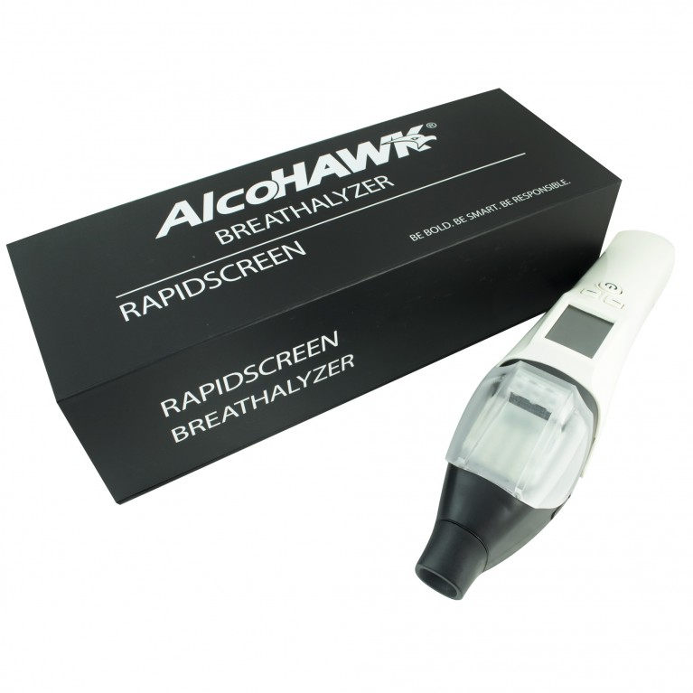 AlcoHAWK RapidScreen, Digital Breath Alcohol Tester